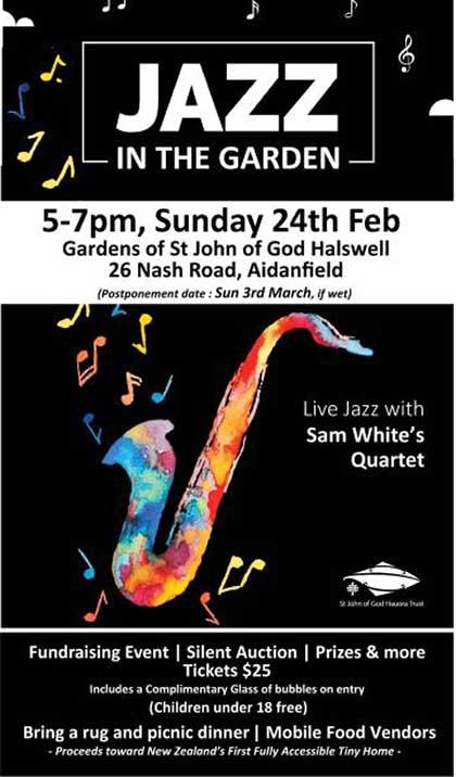 St John of God Halswell Jazz in the Park
